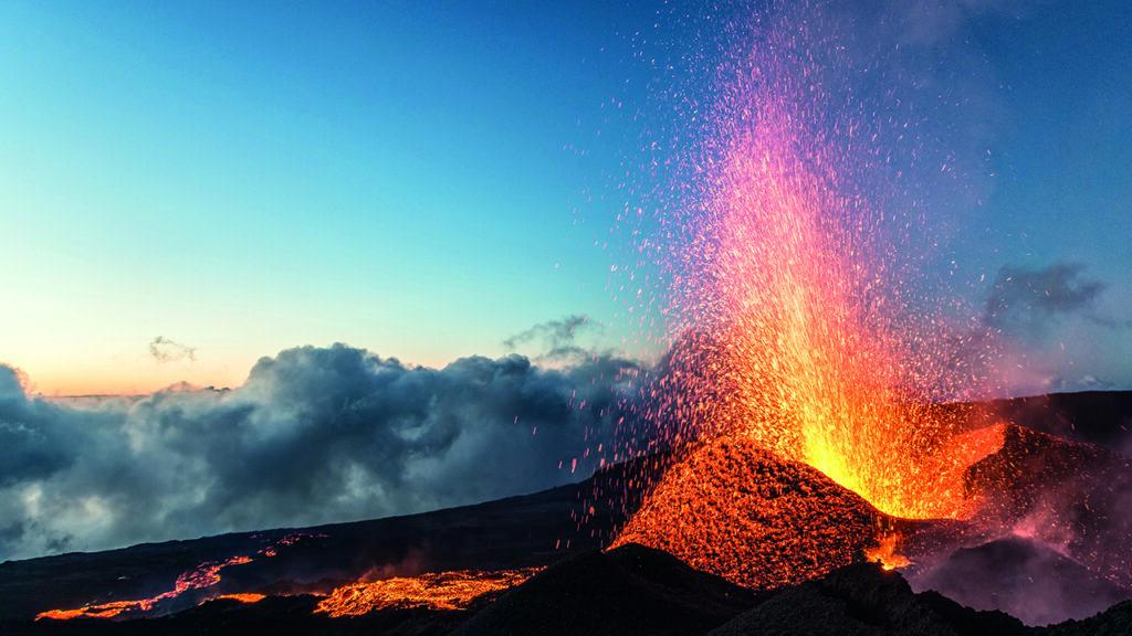 Eruption Volcan Mai 2015